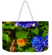 Summer Flower Garden Weekender Tote Bag