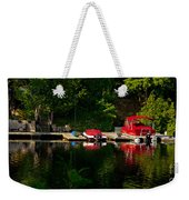Summer Morning On Muskoka River Weekender Tote Bag
