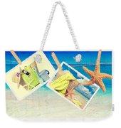 Summer Postcards Weekender Tote Bag by Amanda Elwell