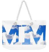 Summer Reflected Weekender Tote Bag