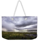 Summer Storm Over The Lake Weekender Tote Bag