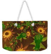 Summer's Last Sunflowers Weekender Tote Bag