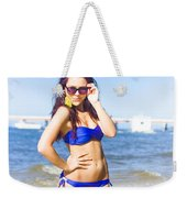 Sun Sand And Sea Leisure Weekender Tote Bag