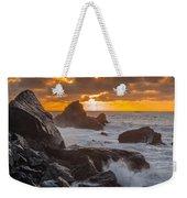 Sun Sets On Patrick's Point Weekender Tote Bag