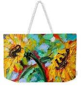 Sunflower Joy Weekender Tote Bag