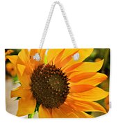 Sunflower With Texture Weekender Tote Bag