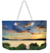 Sunrays At The Lake Weekender Tote Bag