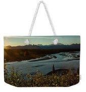 Sunrise On Mnt Denali, Trapper Creek Weekender Tote Bag