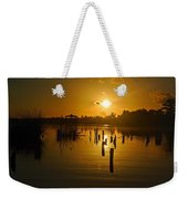 Sunrise On The Bon Secour River Weekender Tote Bag