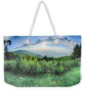 Sunrise Over Blue Ridge Mountains Scenic Overlook  Weekender Tote Bag