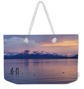 Sunrise Over Ultima Esperanza Weekender Tote Bag