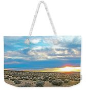 Sunset At Alstrom Point In Glen Canyon National Recreation Area-utah Weekender Tote Bag