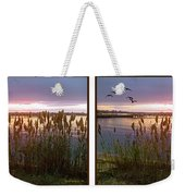Sunset At Fort Smallwood Weekender Tote Bag