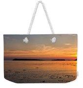 Sunset At Loch Bay Weekender Tote Bag