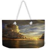 Sunset At Sea Weekender Tote Bag