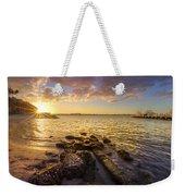 Sunset Light Weekender Tote Bag by Debra and Dave Vanderlaan