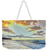 Sunset Over Lake Superior, Keweenaw Weekender Tote Bag
