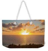Sunset Over The Pacific Ocean, Torrey Weekender Tote Bag
