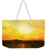 Sunset Road Weekender Tote Bag by Brett Pfister