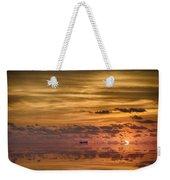 Supertanker Sunset V6 Weekender Tote Bag
