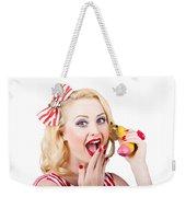 Surprising News On The Banana Phone Weekender Tote Bag
