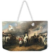 Surrender Of Lord Cornwallis Weekender Tote Bag by John Trumbull
