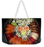 Sushi Party Tray Weekender Tote Bag