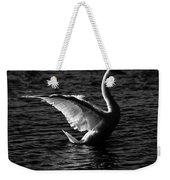 Swan Wingspan Weekender Tote Bag
