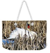 Swanly Weekender Tote Bag