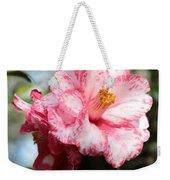 Sweet Camellia Weekender Tote Bag
