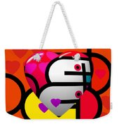 Sweet Heart Weekender Tote Bag