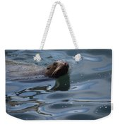 Swimming Sea Lion Weekender Tote Bag