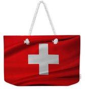 Swiss Flag Weekender Tote Bag