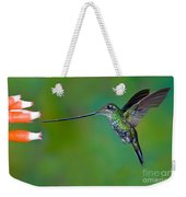 Sword-billed Hummingbird Weekender Tote Bag