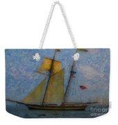 Tall Ship Sailing Weekender Tote Bag