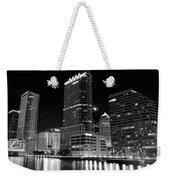 Tampa Black And White  Weekender Tote Bag
