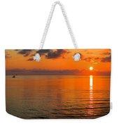 Tangerine Dawn Weekender Tote Bag