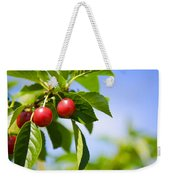 Tart Cherries Weekender Tote Bag