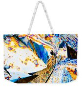 Tartaric Acid Crystals In Polarized Light Weekender Tote Bag