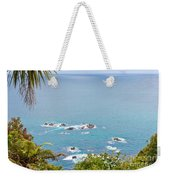 Tasman Sea At West Coast Of South Island Of New Zealand Weekender Tote Bag