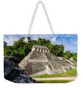 Temple Of Inscriptions Weekender Tote Bag