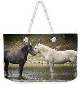 Tender Moments - Wild Horses  Weekender Tote Bag
