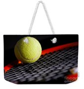 Tennis Equipment Weekender Tote Bag by Michal Bednarek