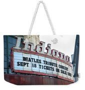 Terre Haute - Indiana Theater Weekender Tote Bag