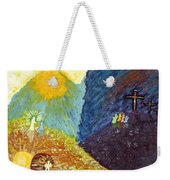 Thank God For Good Friday And Easter Sunday Weekender Tote Bag