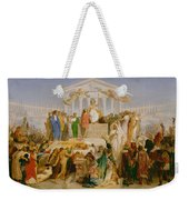 The Age Of Augustus The Birth Of Christ Weekender Tote Bag