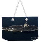 The Aircraft Carrier Uss John C Weekender Tote Bag