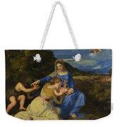 The Aldobrandini Madonna Weekender Tote Bag
