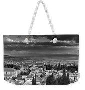 The Alhambra And Albaycin In Granada Weekender Tote Bag