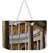 The Alhambra Palace Of Carlos V Weekender Tote Bag by Guido Montanes Castillo
